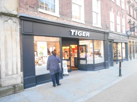 Tiger is the latest retailer to snap up space in the city