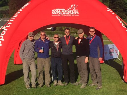 READY TO WALK AGAIN: HARRIS LAMB SIGNS UP FOR THE CUMBRIAN CHALLENGE 2017