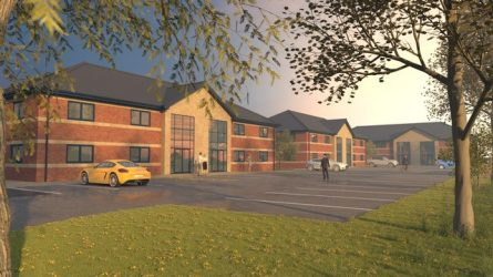 CONSTRUCTION IMMINENT AT SPECULATIVE DEVELOPMENT IN DERBYSHIRE