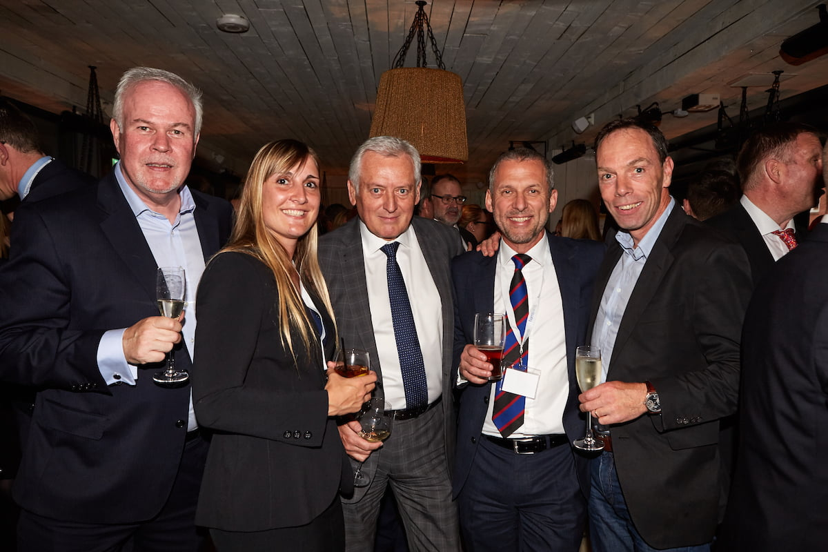 Martin King, Becky Colclough, Trevor Law, Andy Lamb, Steve Ferris