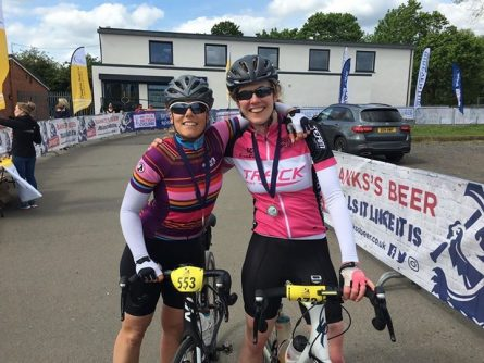 Fi's first Spotive cycle challenge goes wheel-y well!