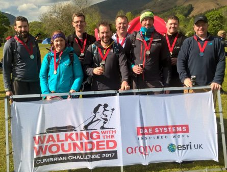 HARRIS LAMB RAISES £2,500 FOR WOUNDED VETERANS BY COMPLETING THE CUMBRIAN CHALLENGE