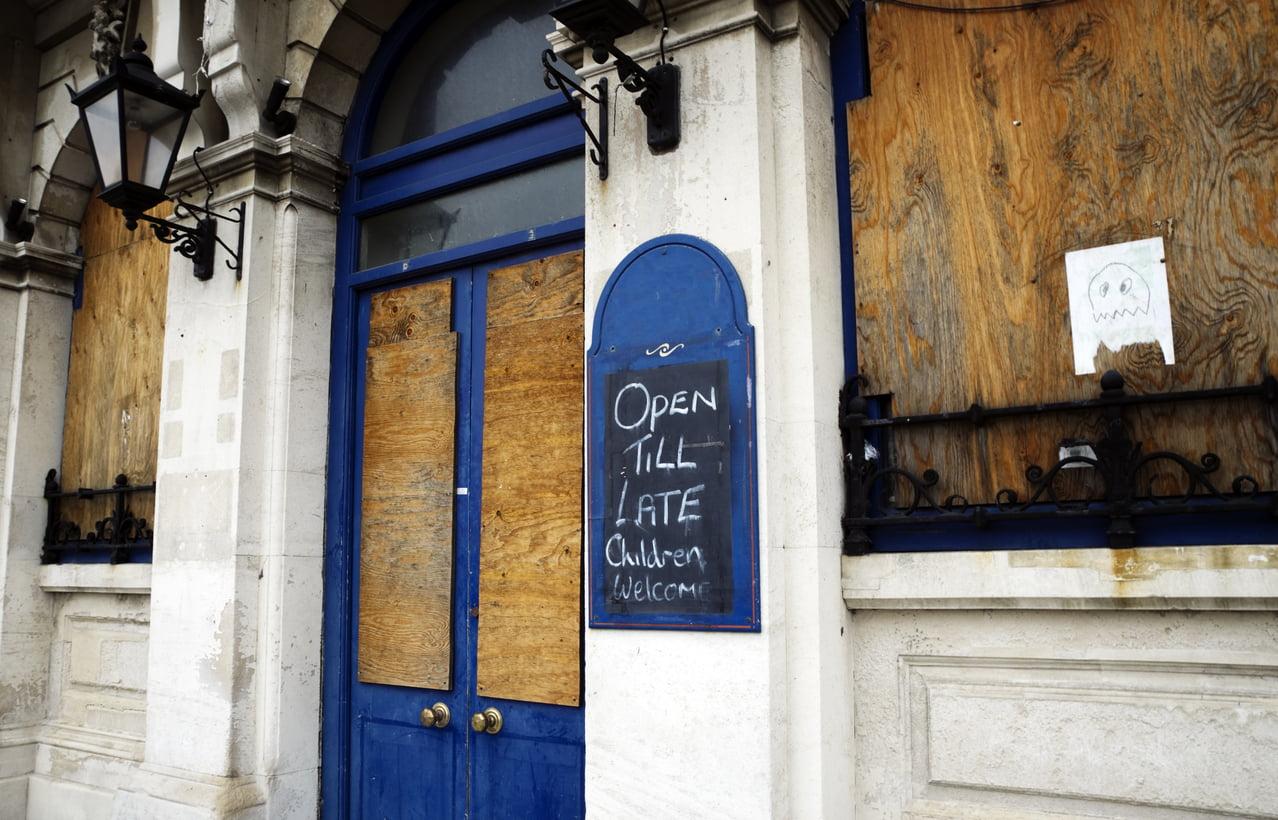 Derelict pub