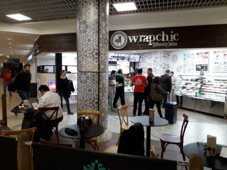 HARRIS LAMB SECURES WALSALL PRESENCE FOR FUSION FAST FOOD CHAIN WRAPCHIC