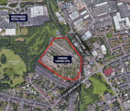 HARRIS LAMB MARKETS WALSALL SITE FOR 252 NEW HOMES