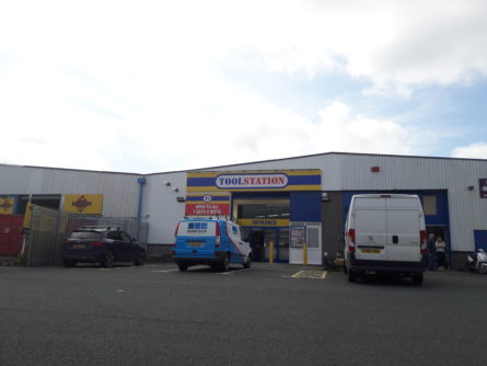 TELFORD TOOLSTATION WAREHOUSE SOLD FOR MORE THAN £280,000