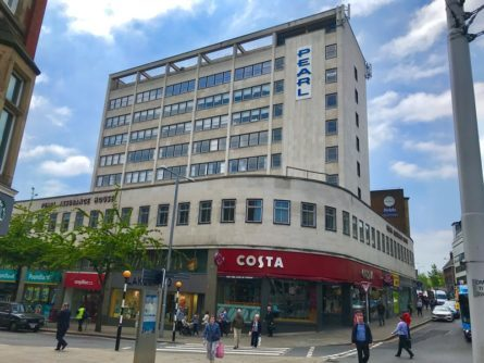 NEW OCCUPIERS SOUGHT FOR NOTTINGHAM'S PEARL ASSURANCE HOUSE