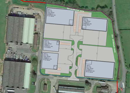 HARRIS LAMB SECURES PERMISSION FOR POTTER SPACE FOR NEW INDUSTRIAL ESTATE IN CUTNALL GREEN