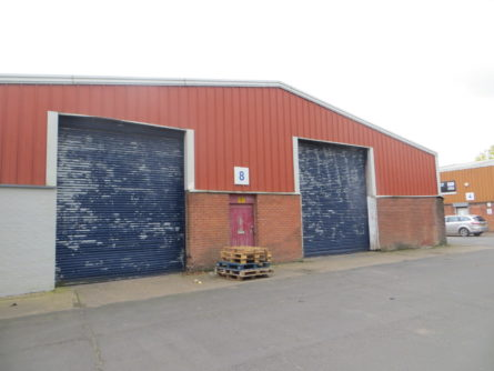HARRIS LAMB OVERSEES REFURB ON RUGBY INDUSTRIAL ESTATE