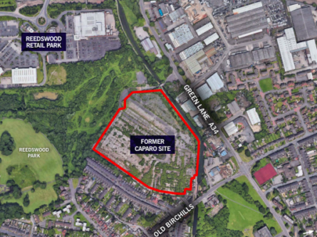 PLANNING CONSENT ACHIEVED FOR 252 NEW HOMES IN WALSALL