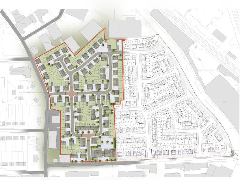 Steelhouse Lane Plan – Harris Lamb Sells Wolverhampton Land to Lovell Homes