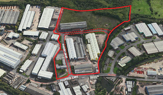 DUDLEY INDUSTRIAL ESTATE SOLD TO AEW