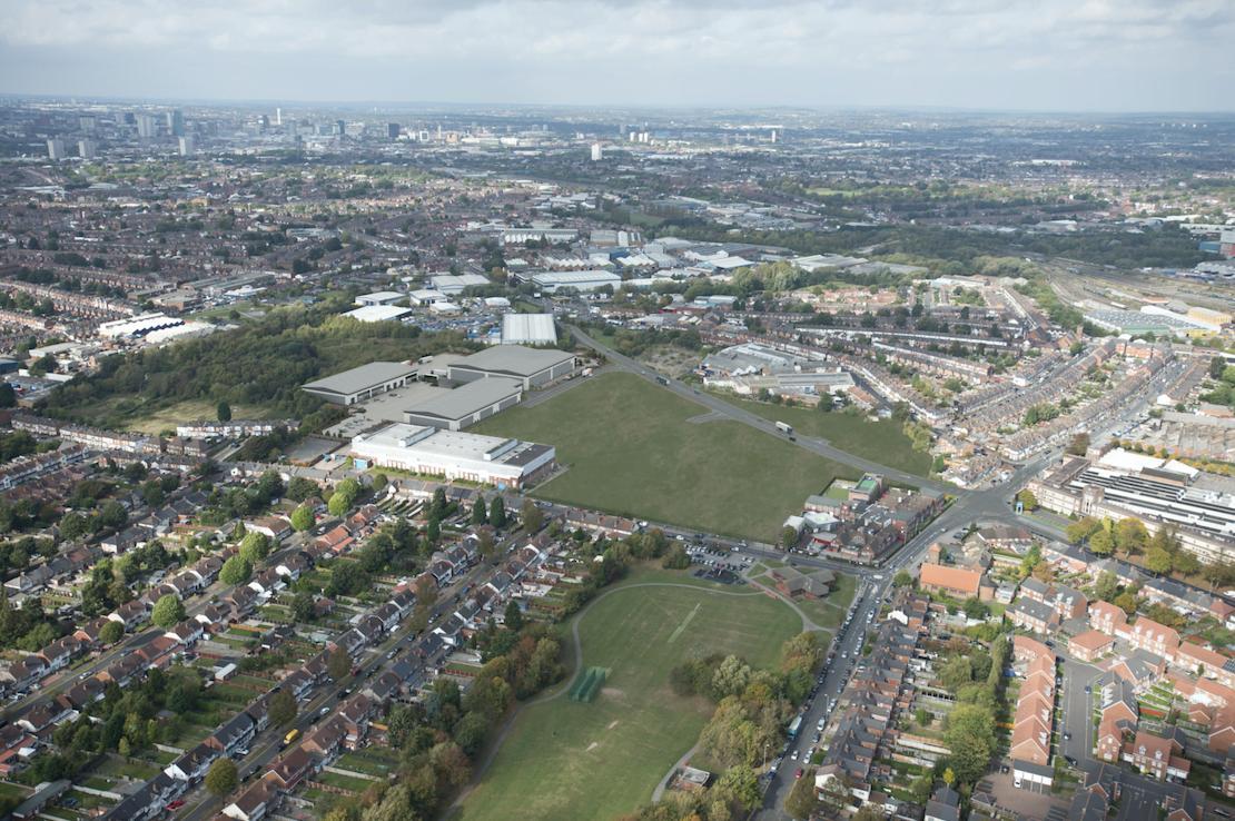 Mucklow Park aerial