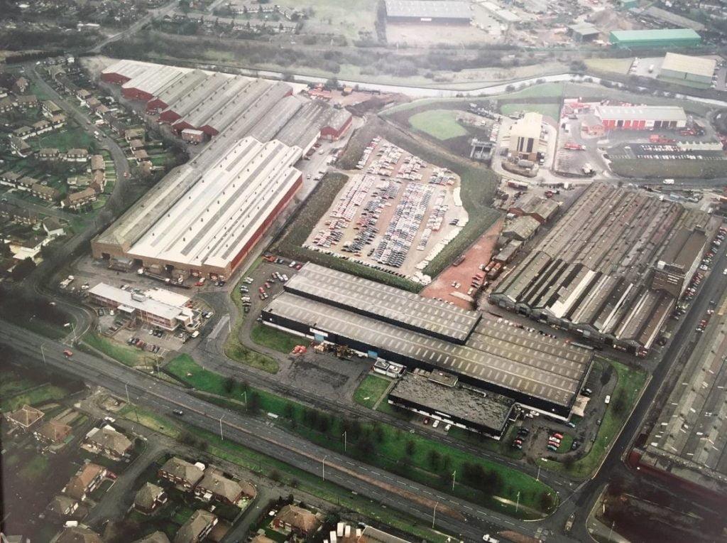 Dudley industrial estate