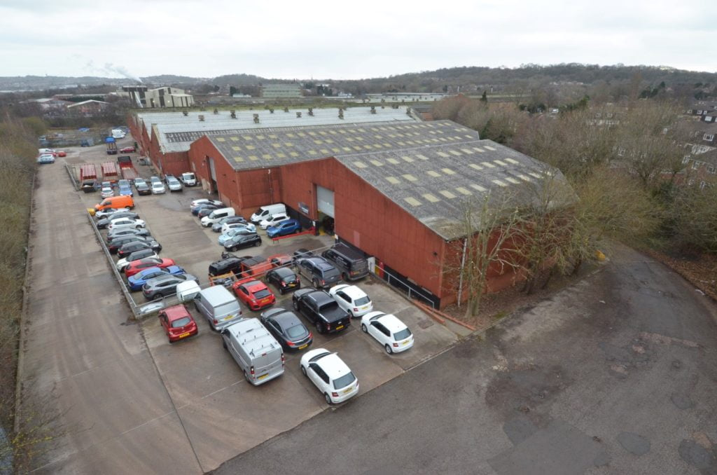 WELLINGTON INDUSTRIAL ESTATE SOLD TO HORTONS ESTATE FOR MORE THAN £11 MILLION