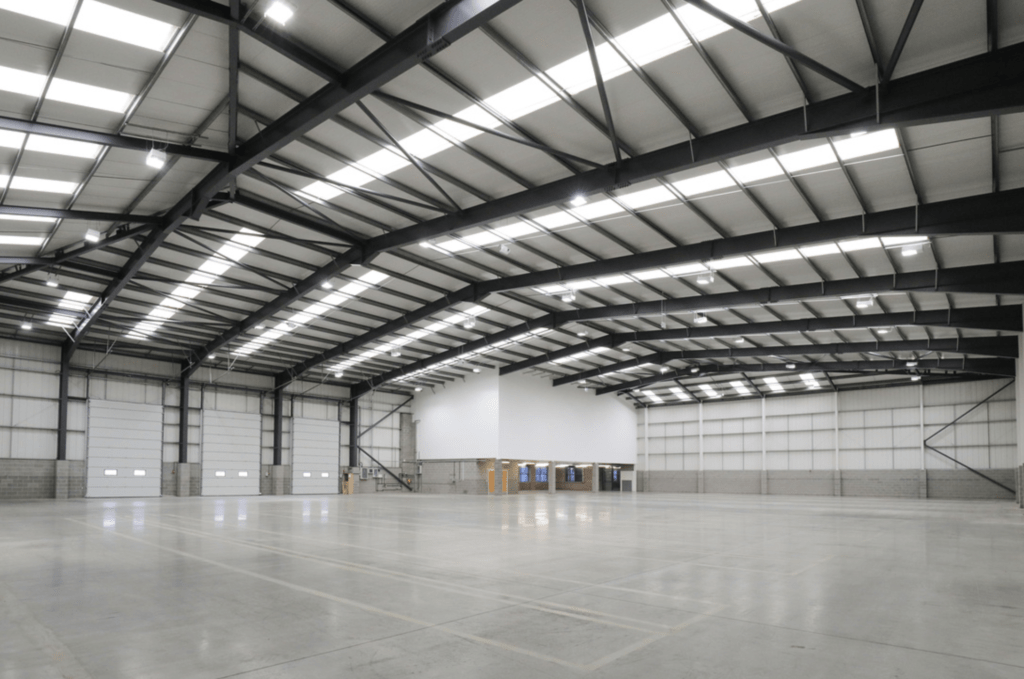 HIGH-SPEC INDUSTRIAL WAREHOUSE REFURBISHMENT IN COVENTRY COMPLETED