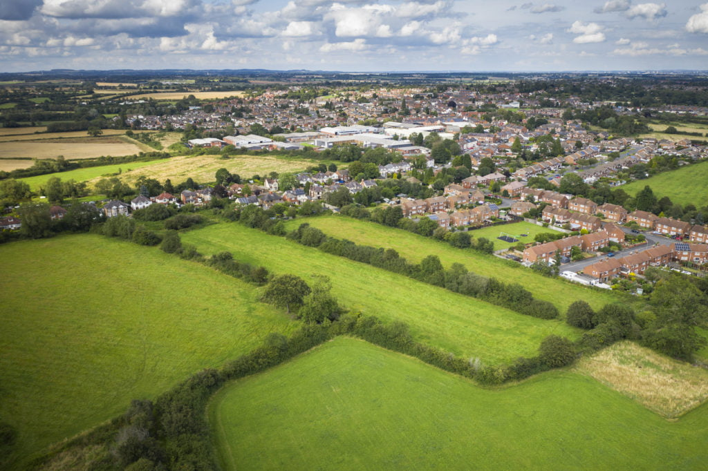 HARRIS LAMB MARKETS BARWELL LAND PARCEL WITH OUTLINE PLANNING IN PLACE FOR 25 NEW HOMES
