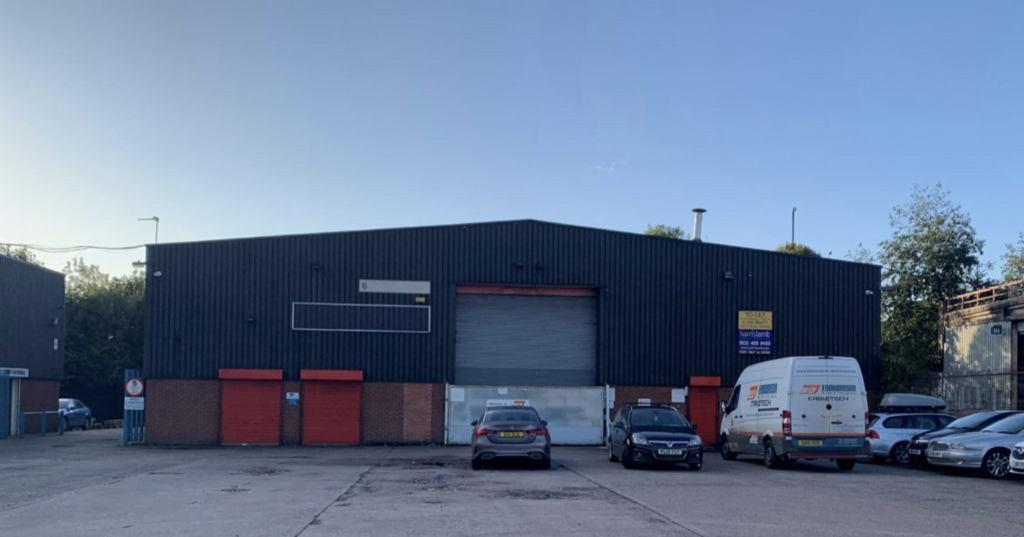HARRIS LAMB INSTRUCTED TO LET WOLVERHAMPTON TRADE COUNTER UNIT