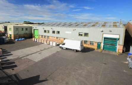 DERBY WAREHOUSE LET TO HAULAGE AND DISTRIBUTION SPECIALIST