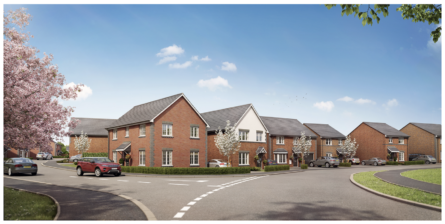 WORCESTERSHIRE LAND PARCEL SOLD FOR 106-HOME DEVELOPMENT