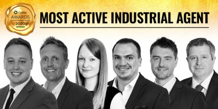 HARRIS LAMB AWARDED WEST MIDLANDS MOST ACTIVE INDUSTRIAL AGENT