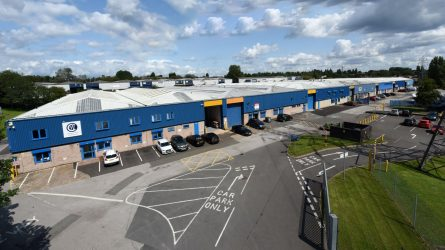 HIGH ENQUIRY LEVELS AT WALSALL COMMERCIAL ESTATE FOLLOWING SIX-FIGURE REFURBISHMENT