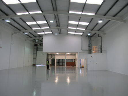 £50,000 REFURBISHMENT COMPLETED AT MINWORTH WAREHOUSE