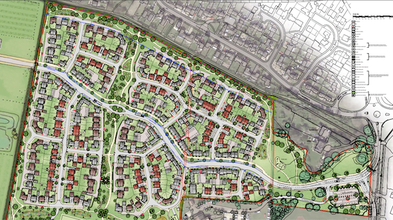 280-HOME DEVELOPMENT IN BANBURY GIVEN GO-AHEAD BY COUNCIL
