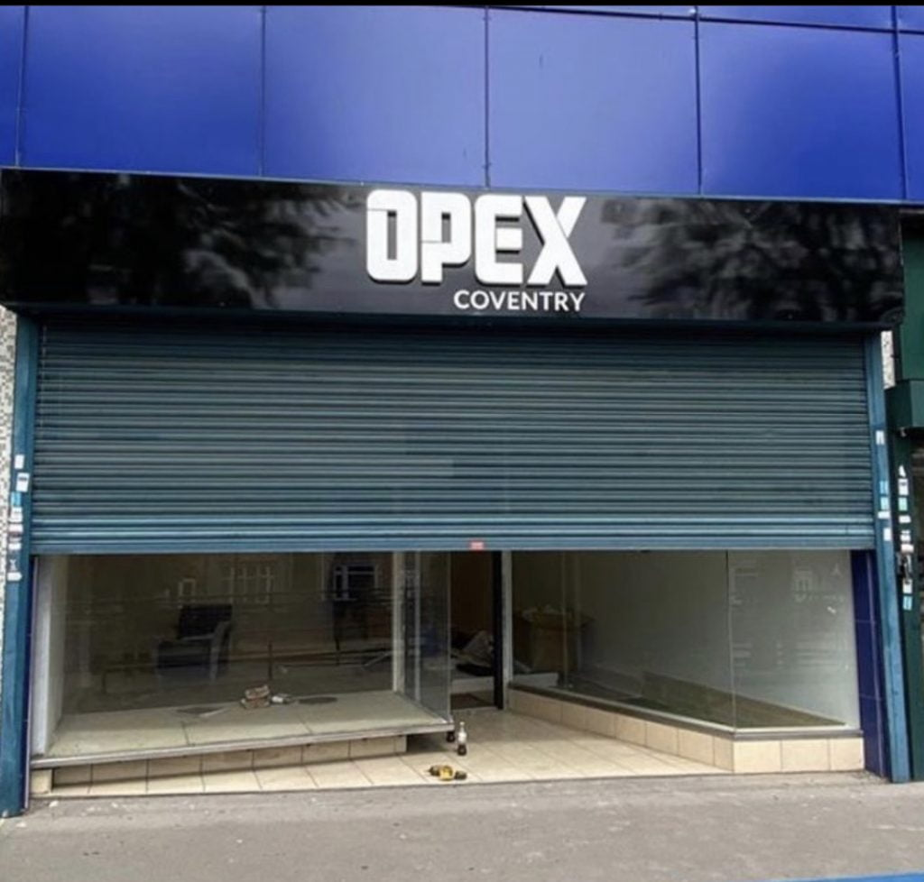 Opex gym Coventry