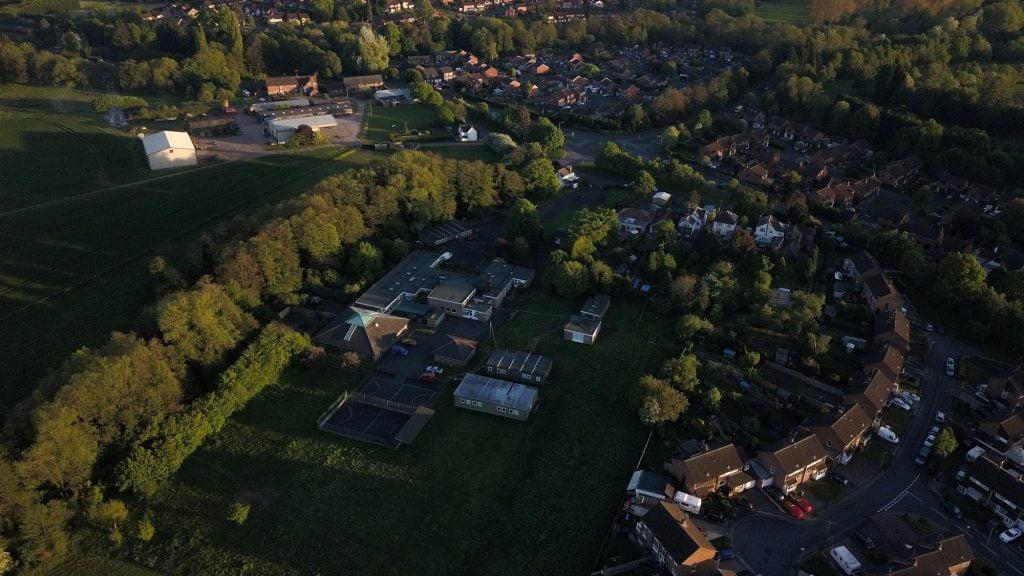 former Stourminster School site on Comberton Road
