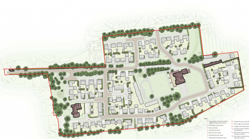 Keepmoat Homes with the new owners now seeking permission for 197 homes at the site.