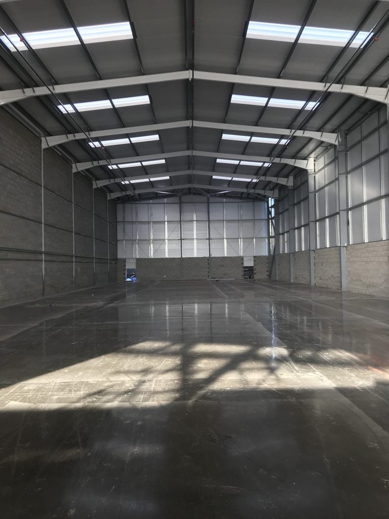 NEW-BUILD WEDNESFIELD WAREHOUSES CLOSE TO COMPLETION