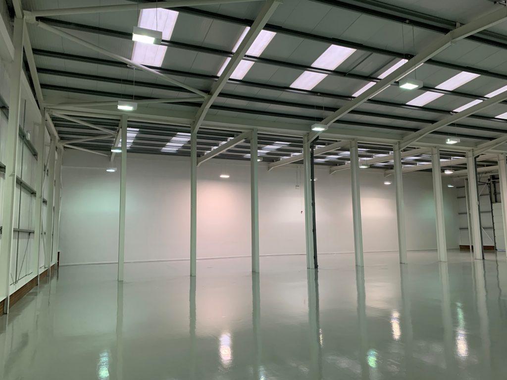 refurbishment at Minworth Trade and Industrial Park