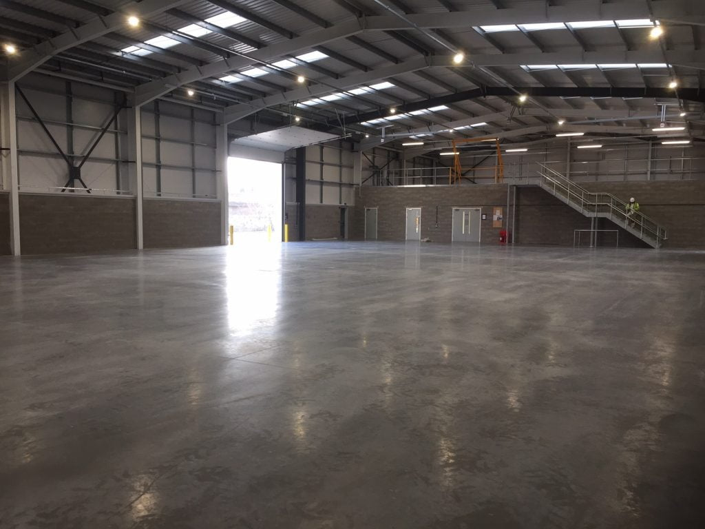 £1.5 MILLION DESIGN AND BUILD PROJECT COMPLETED AT MINWORTH TRADE PARK