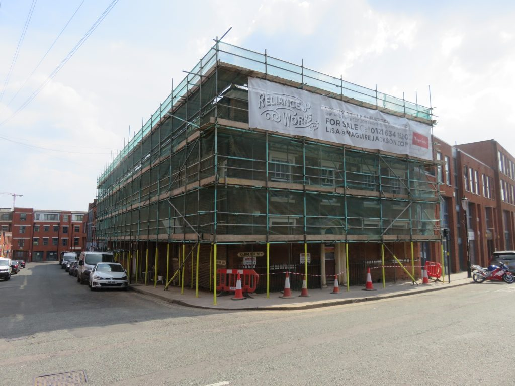 RESIDENTIAL CONVERSION UNDERWAY AT HISTORIC JEWELLERY QUARTER BUILDING