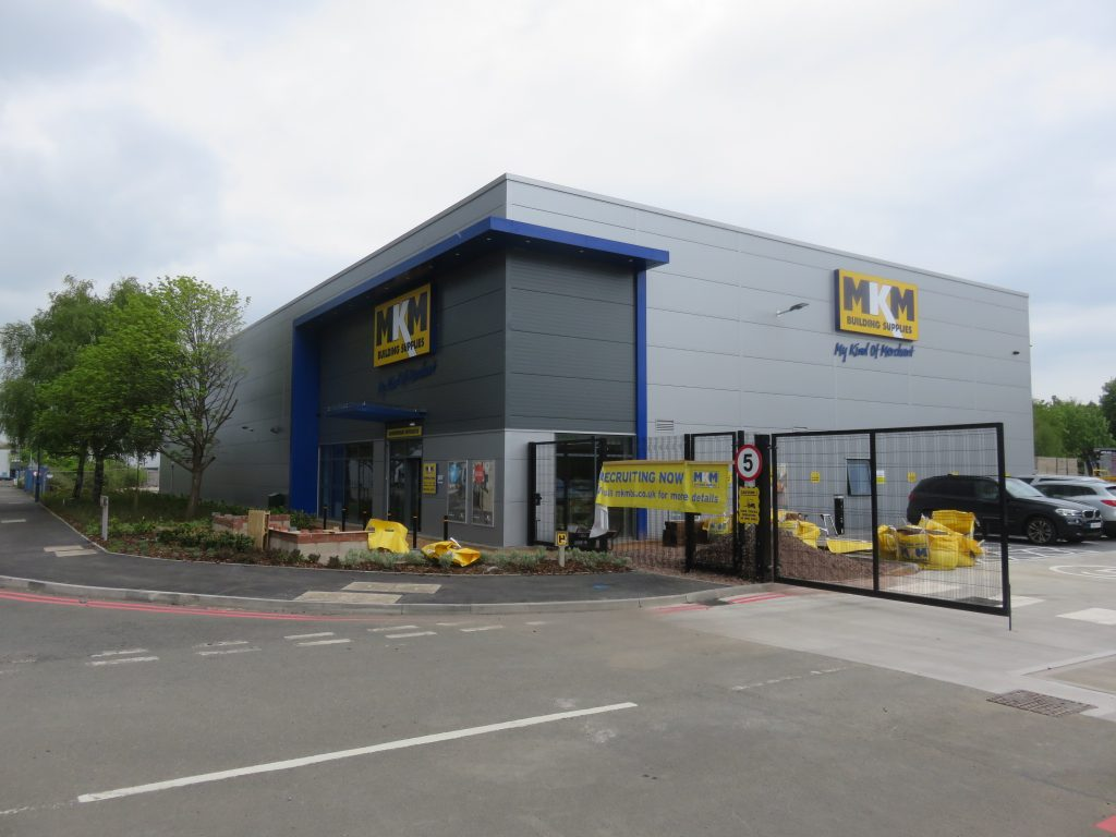 MKM BUILDING SUPPLIES COMMENCES TRADING AT £1.5 MILLION DESIGN AND BUILD WAREHOUSE IN MINWORTH