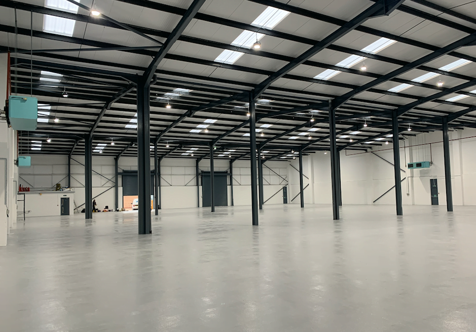 £440,000 REFURBISHMENT PROJECT COMPLETED AT MINWORTH TRADE PARK