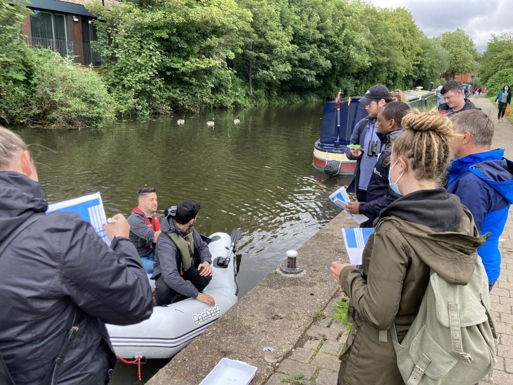 ECO TEAM SUPPORTS NOTTINGHAMSHIRE CANAL BIODIVERSITY IMPROVEMENT PROJECT