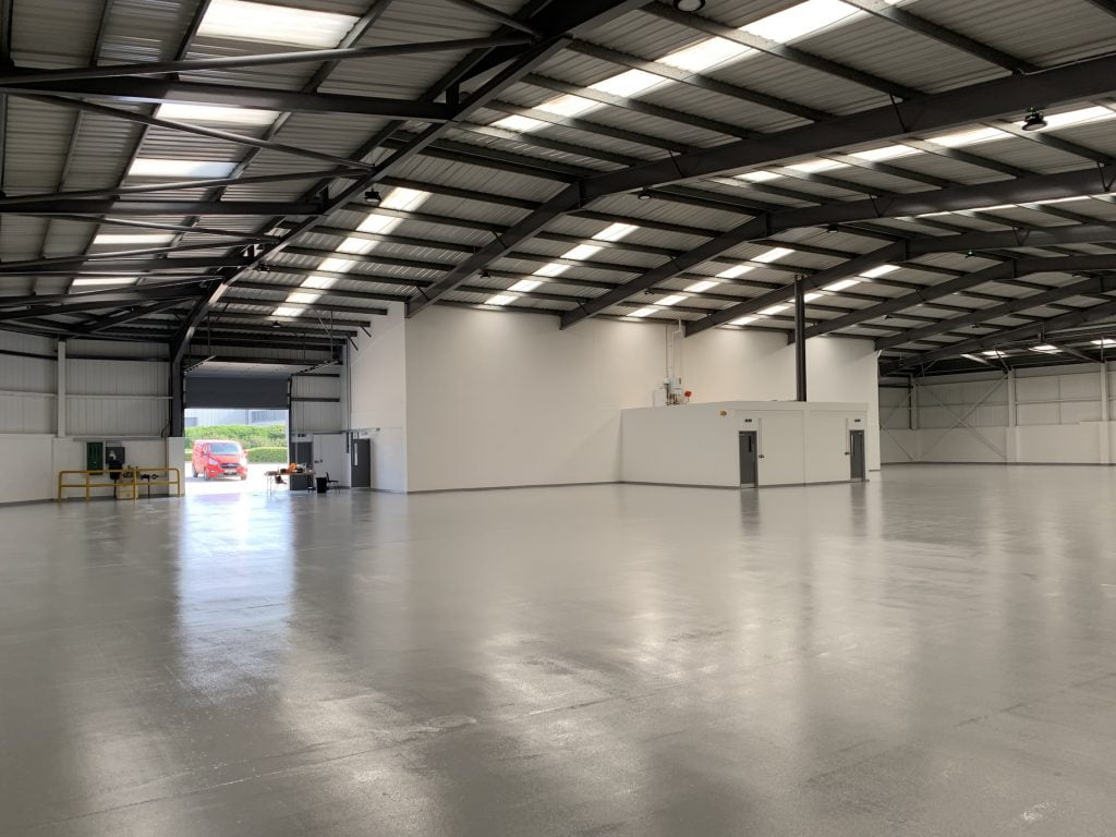 BUILDING CONSULTANTS COMPLETE LATEST REFURBISHMENT WORKS AT COVENTRY INDUSTRIAL ESTATE