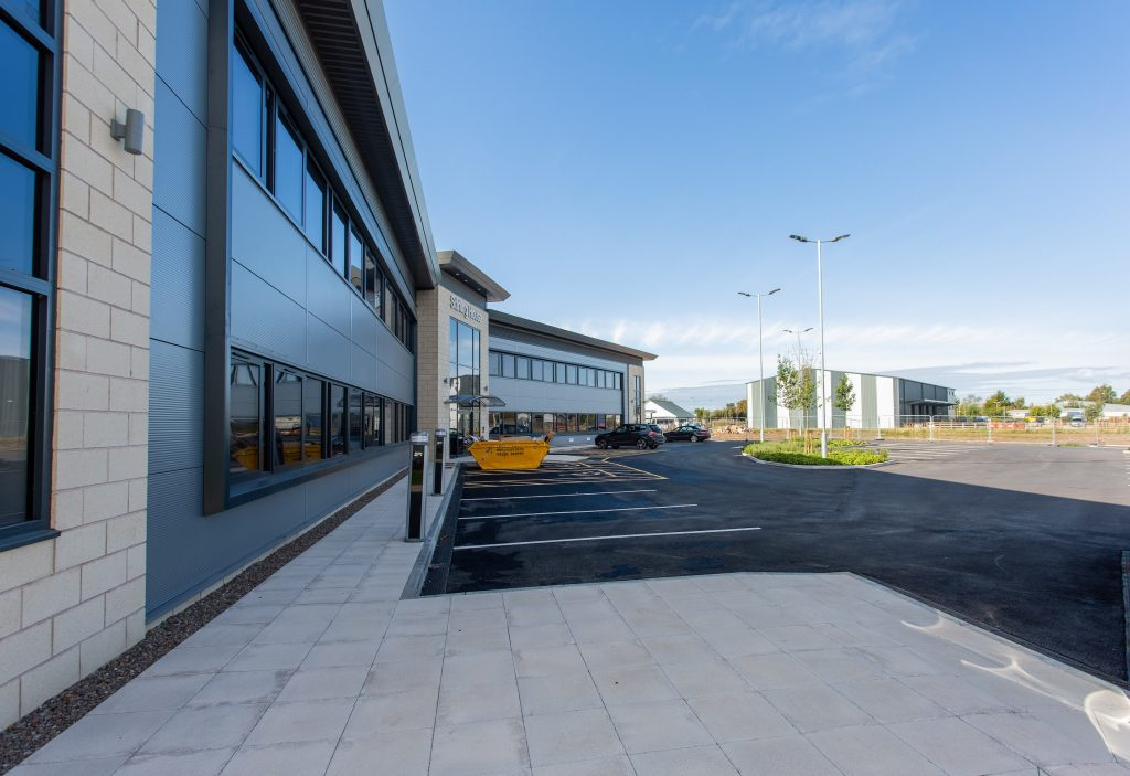 HIGH-SPEC OFFICE DEVELOPMENT MARKETED IN HEREFORD'S ENTERPRISE ZONE